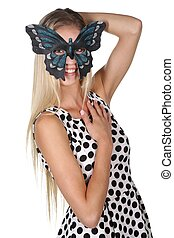 Masked Beauty Woman