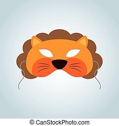 masker, leeuw