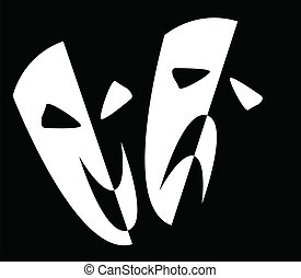 maski, rusztowanie