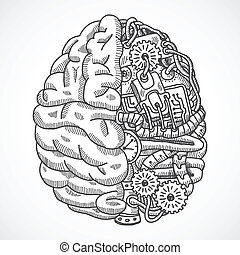 maskin, hjärna, tillverkning av