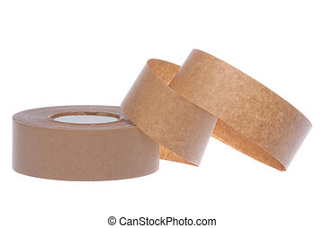 Masking Tape Isolated - Isolated image of masking tape.