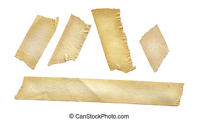 Masking Tape - Masking tape on white.