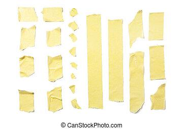 Masking Tape Strips - Strips of masking tape isolated on ...