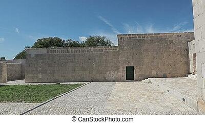 maskovica, han, templar, stadt, atrium
