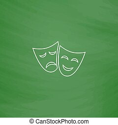 masks computer symbol
