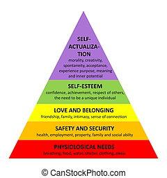 maslow, piramide