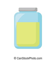 mason jar with potion