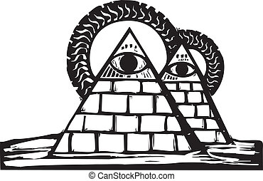 masonic, ピラミッド