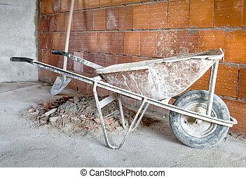 Masonry Wheelbarrow