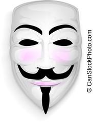 masque, anonyme