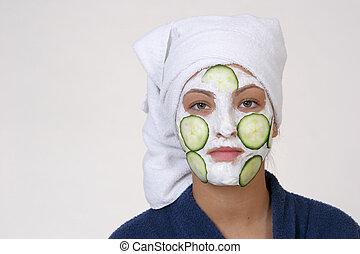 masque, beauté