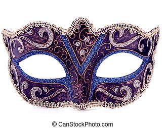 masque, carnaval, vénitien