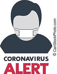 masque, coronavirus, alerte