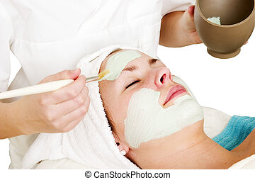 masque, facial