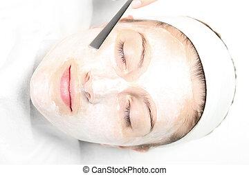 masque, facial