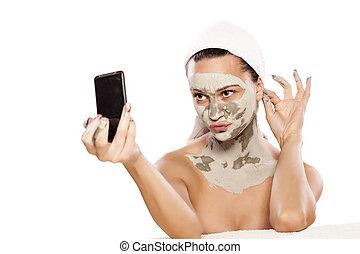 masque, figure