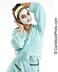 masque, poser