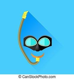 masque pour plongée sousmarine