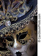 masque vénitien, carnaval
