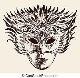 masque, vénitien