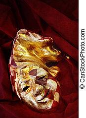 masque vénitien, farceur