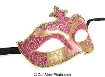 masquerade mask cutout