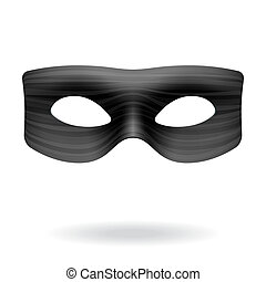 Vector illustration of a masquerade mask