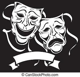 masques drame