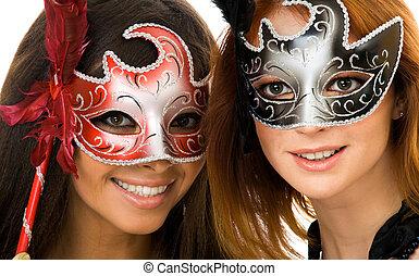 masques, femmes