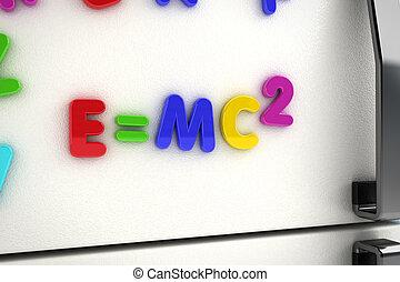 Mass - energy equivalence fridge magnets - The mass - energy...
