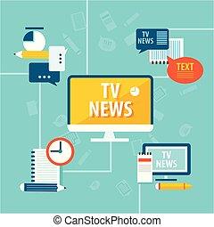Mass Media Global Tv News - Mass media global tv news with...
