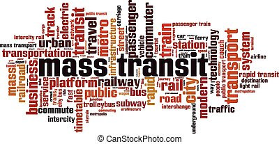 Mass transit [Converted].eps - Mass transit word cloud...