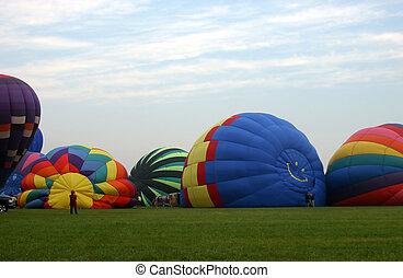 massa, balloon, inflação
