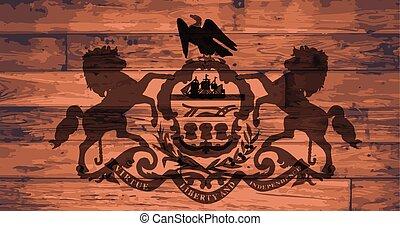 Massachusetts Flag Brand