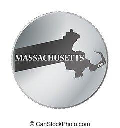 Massachusetts State Coin
