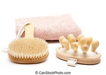 Massage and back brush