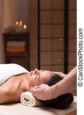 Massage at resort