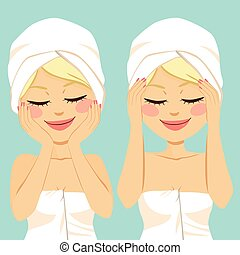 massage facial