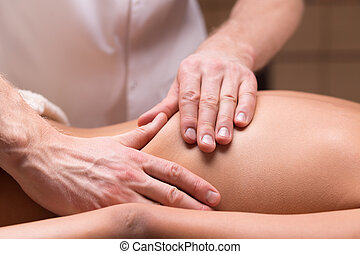 Massage for back pain relief