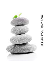 Massage gray stones