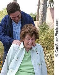 Massage In The Garden