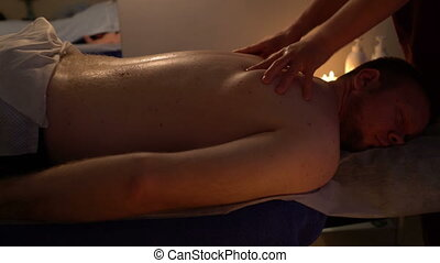 Massage male massage Salon back in
