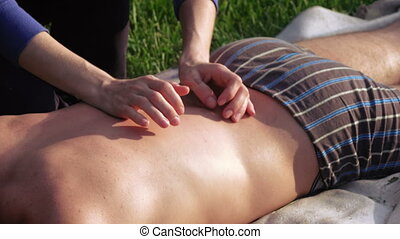 Massage on nature of man