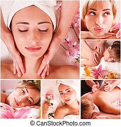 massage spa set