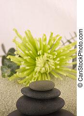 Massage Stones, Green Ast