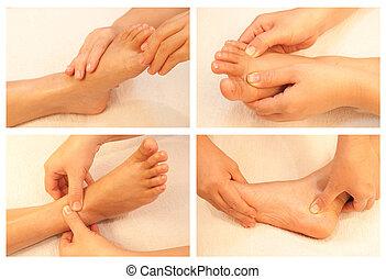 massagem, cobrança