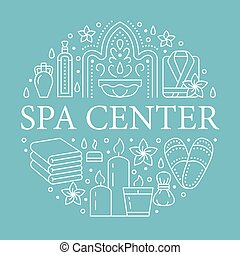 massagem, hamam, sinais, spa, turco, aromatherapy, modelo,...