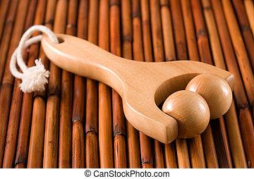 Hand grip body massager