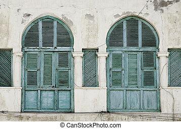 massawa, windows, influenza, eritrea, ottomano