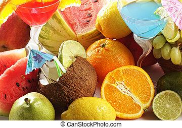 masse, fruits